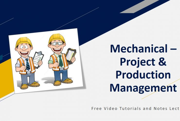Mechanical - Project and Production Management